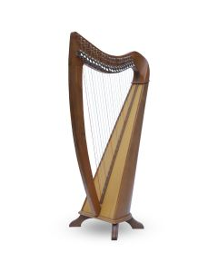 Muzikkon 22 STRINGS CLADDAGH HARP WALNUT